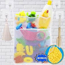 <b>Dropshipping Fashion New</b> Baby Toy Mesh Storage Bag Bath ...