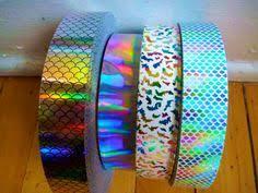 Wholesale-5pcs Mixed Color <b>Holographic Adhesive Film Flash</b> Tape ...