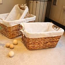 <b>Handmade Seagrass Storage Basket</b> Water Hyacinth Basket Straw ...