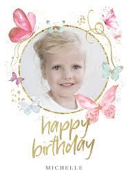 <b>Magical Butterflies</b> - <b>Happy</b> Birthday Card