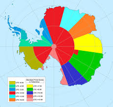 Antarctica     s Weird Time Zones Map Strange Sounds antarctica time zones  Antarctica time zones map   Antarctica time zones  time zone in