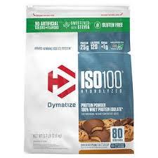 Dymatize <b>ISO100 Hydrolyzed 100</b>% Whey Protein Isolate Powder ...