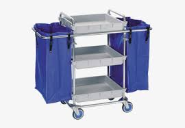 Trolleys with <b>cloth</b>-<b>bags for</b> room service | Fagor Industrial