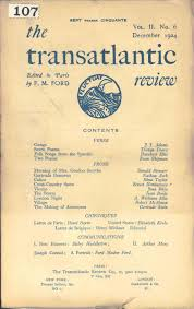 university of south carolina libraries rare books and special the transatlantic review vol 2 6 dec 1924