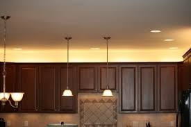 over the cabinet lighting in a kitchen above cabinet lighting