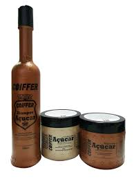 Набор для волос (шампунь, кондиционер, <b>маска</b>) <b>Coiffer</b> ACUCAR ...