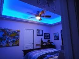 color changing led lights for the bedroom led strip lighting blue energyefficient bedroom led lighting ideas