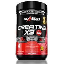 <b>Six Star Pro Nutrition</b> Creatine X3 Powder, Max-Dosed Creatine ...