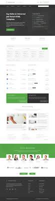 5 best html5 job board website templates 2017 responsive miracle profession html5 job board website templates