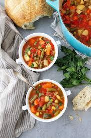 <b>Vegetable Soup</b> {Homemade} - Two Peas & Their Pod