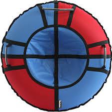 <b>Тюбинг Hubster Хайп</b> красный-синий (100 см) купить в интернет ...