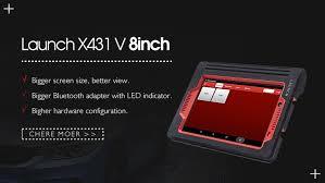 <b>Launch X431</b> V 8inch Tablet Wifi/Bluetooth <b>Full System Diagnostic</b> ...