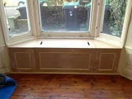 image of home diy bay window seat bay window seat