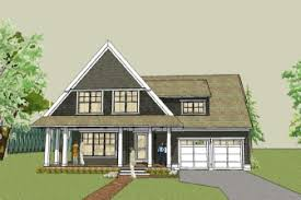 simple cottage house plan   wrap around porch and open floor plan