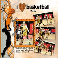 <b>I Love Basketball</b> | Troy | Baseball scrapbook, Basketball, Scrapbook ...