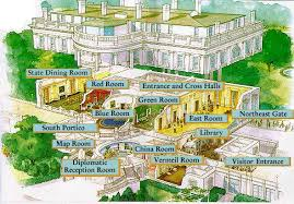 Washington D  C    ESL ResourcesWhite House Floor Plan  solcomhouse com