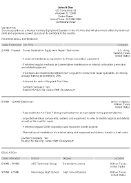 military resume examples learn how to list your military service how to write a military resume