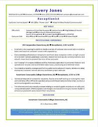 sample resume of doctors reception resume. medical receptionist ... Medical Receptionist Resume Monster Sample Resume