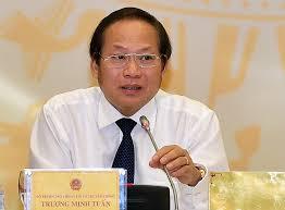 Kết quả hình ảnh cho ảnh bộ trưởng Trương Minh Tuấn