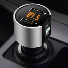 Handsfree <b>Wireless Bluetooth</b> Car Kit <b>FM Transmitter</b> Player USB ...