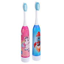 <b>Зубная щетка электрическая детская</b> FORZA, 1АА, 2 цвета ...