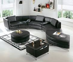 living room ideas with black leather sectional black leather living room