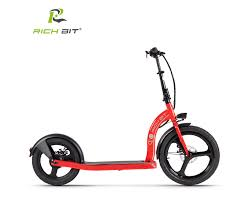 <b>RICH BIT H100</b> 36v 250w 6Ah Red 20-16 inch Folding Electric Kick ...