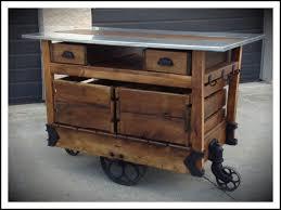 wheels kitchen carts butcher