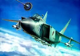 МиГ - 31Б | Airplane art, Aviation art, Russian jet