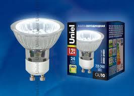 <b>LED</b>-<b>JCDR</b>-<b>SMD</b>-<b>1</b>,<b>2W</b>/<b>DW</b>/<b>GU10 85</b> lm Светодиодная <b>лампа</b> ...