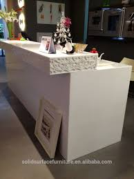 tell world customize artificial marble modern shop counter boutique boutique reception counter