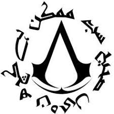 <b>Assassin's creed emblem</b> and the creed itself in Urdu Nothing is true ...