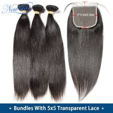 11A Straight Hair With <b>Transparent 5x5 Lace Closure</b> New Star ...