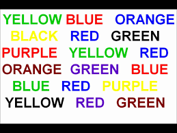 Image result for stroop effect hypnosis