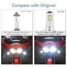 <b>Bevinsee LED</b> P15D H6M Headlight Bulb For Kawasaki Bayou 220 ...