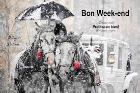 """Résultat de recherche d'images pour """"Gifs Bon week  sous la neige"""""""
