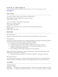 academic resume anuvrat info academic resume resume cv template examples