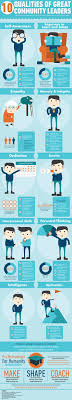 10 qualities of great community leaders infographic community the qualities of a community organizer leadership