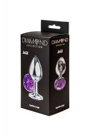 <b>Анальная пробка Diamond Purple</b> Sparkle Large 4010-05Lola ...