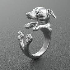 <b>Free shipping 10pcs</b>/<b>lot wholesale</b> retro Italy Greyhound Ring free ...
