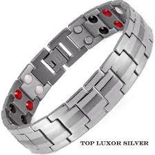 <b>Магнитный браслет</b> - Топ Люксор серебристый 4 в 2 от ...