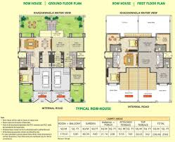 BHK  amp  BHK Ready Possession Flats Sinhagad Road   DSK    Row House   Typical Floor Plan