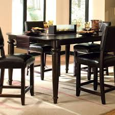 black kitchen dining sets: black elegant curtains kitchen designs black elegant dining set tall kitchen table