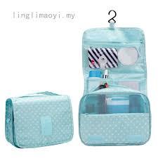 Portable Bathroom Hanging <b>Organizer</b> Toiletry Bag <b>Waterproof</b> ...