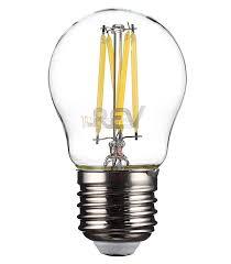 <b>Лампа</b> светодиодная <b>REV</b> 5 Вт E27 <b>филаментная</b> шар G45 4000 ...
