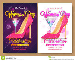 mother s day flyer poster template royalty stock image set of template banner or flyer for women s day royalty stock images