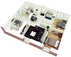 awesome 3d floor plans for small or medium house easy guide houses loft apartment design awesome 3d floor plans