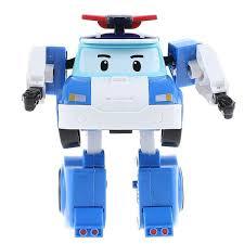 <b>Robocar Poli</b> Игрушка-трансформер <b>Поли</b> цвет белый <b>голубой</b> ...