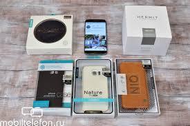 Обзор <b>аксессуаров Nillkin для</b> Samsung Galaxy S7 edge и не только