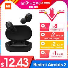 <b>New Original Xiaomi Redmi</b> Airdots 2 TWS Noise Reduction ...